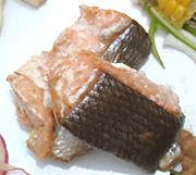 秋鮭の柚奄焼き