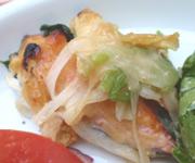 北海道産秋鮭のチャンチャン焼き