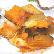ほっくほっく有機南瓜のチーズ焼き