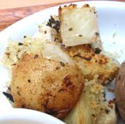 メカジキと有機じゃが芋の香草パン粉焼き