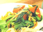 有機青菜と有機豆もやしの本格ナムル