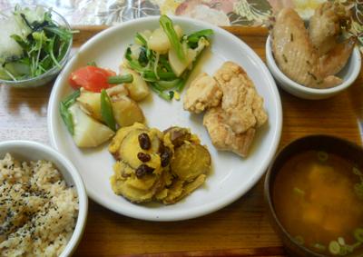 オーガニック野菜ラン</p> <p>チ
